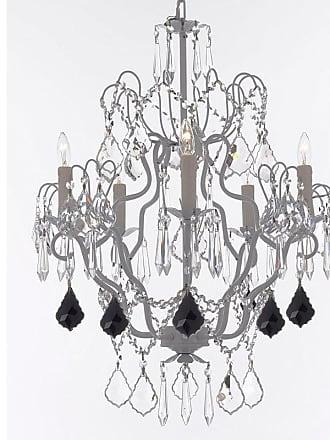 Gallery T22-2659 5 Light 21 Wide Crystal Chandelier with Swarovski