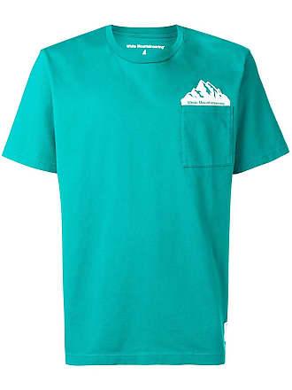White Mountaineering Camiseta com estampa - Verde