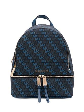 Michael Michael Kors logo pattern backpack - Blue
