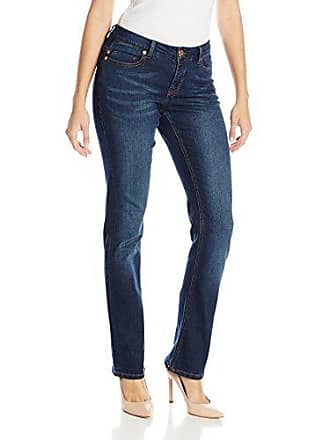 Liverpool Jeans Company Womens Blue Jay Way Sadie Straight Leg Jean, Honey Wash, 12