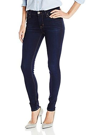 Hudson Womens Nico Mid-Rise Super Skinny Elysian 5-Pocket Jean, Oracle, 27
