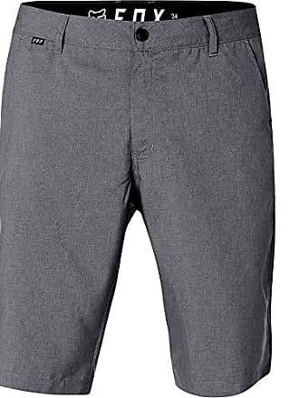 Fox Mens Essex Modern Fit 4-Way Stretch Tech Short, Charcoal Heather, 33