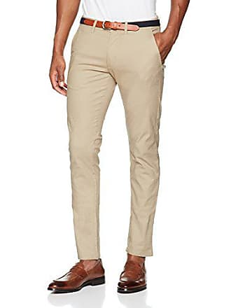 Selected Selected Homme Shhyard Sand Struc Slim Pants, Pantalon, Beige,  (Taille Fabricant 030df3b8aa49