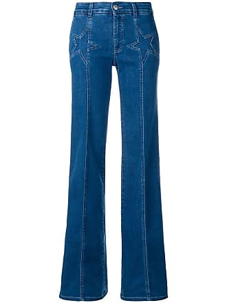 Stella McCartney Calça jeans flare - Azul