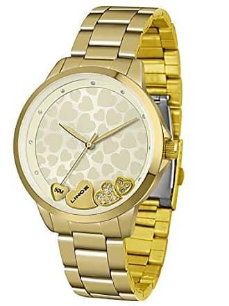 Lince Relógio Lince Feminino Ref: Lrg4571l C1kx Casual Dourado