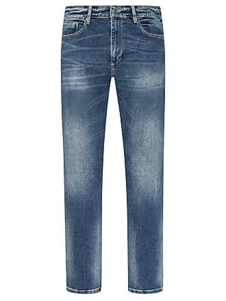 2f7b6d2260eb Oliver Übergröße   s. Oliver, Jeans im Used-Look in Blau