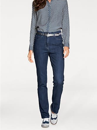 Heine Damen Jeans Five Pocket, blau, Gr. 17, heine TIMELESS, Material fce8237eb0