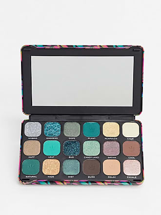 Revolution Good Vibes Forever Flawless with cannabis sativa Eyeshadow Palette - Chilled-No Colour