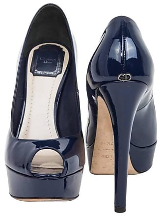 5b1c88f06bc1 Dior Dior Pumps Size 37.5 Fr In Patent Blue Leather