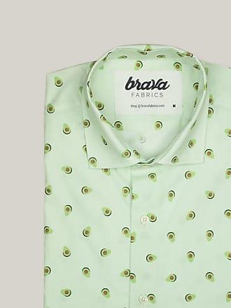 Brava Fabrics Avocado Cocktail Printed Short Sleeve Shirt