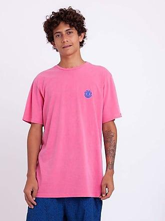 Element Camiseta Element Minimal Logo Rosa