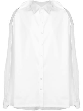 Y / Project Camisa slim - Branco
