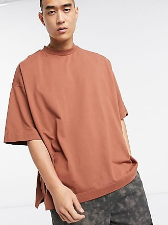 Collusion oversized t-shirt in brown