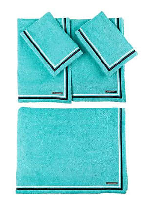 "Lot of 2 OPALHOUSE Turquoise Soft Jacquard Accent Hand Towels 16/""×28/"" NWT S7"