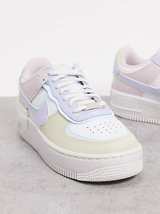 Nike Air Force 1 Shadow trainers in pastel-Multi