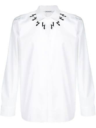 Neil Barrett Camisa Thunderbolt - Branco