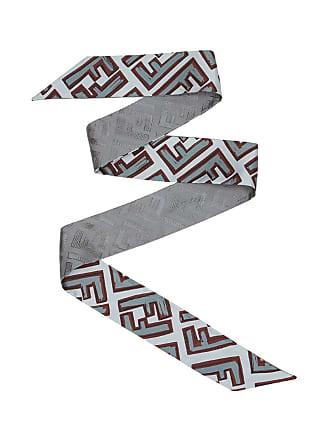 Fendi FF wrappy scarf - Cinza