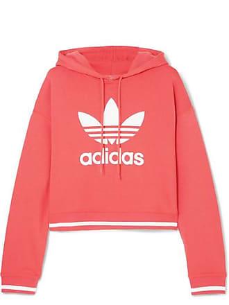 adidas Originals Ai Verkürzter Hoodie Aus Jersey Aus Einer Baumwollmischung  Mit Print - Rot 3cc4461414