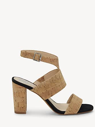 Vince Camuto Womens Warma Ankle Strap Sandals Natural Size 9 Leather From Sole Society