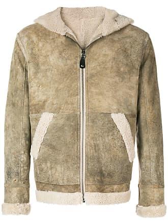Yves Salomon - Army reversible merinillo shearling jacket - Neutrals