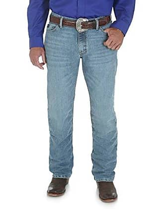 Wrangler Mens Size Tall 20X Cool Vantage Competition Slim Fit Jean, Ocean Blue, 38x40