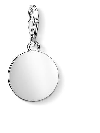 Thomas Sabo Thomas Sabo Engravable Charm pendant disc silver-coloured 1428-001-21