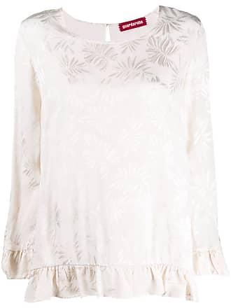 Guardaroba Calça com estampa floral - Branco