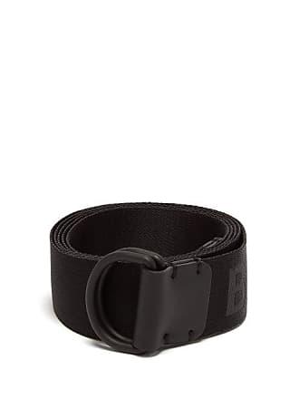 fb03e547b69 Burberry Logo Weave Webbing Belt - Mens - Black