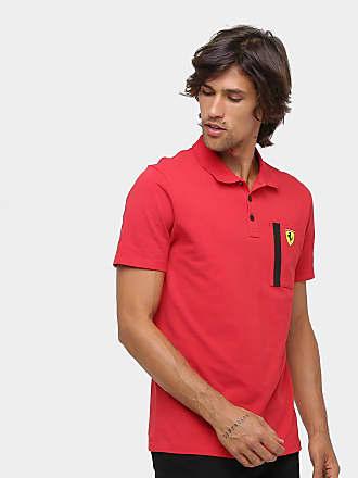 b2b3feed53 Puma Camisa Polo Puma Scuderia Ferrari Masculina - Masculino