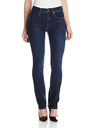James Jeans Womens Hunter Flat Straight Jean in Fetch, 27