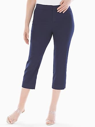 Soma Summerweight Slimming Crop Pants Maritime Navy, Size XS