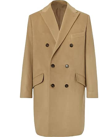 Altea Double-breasted Cashmere Coat - Camel