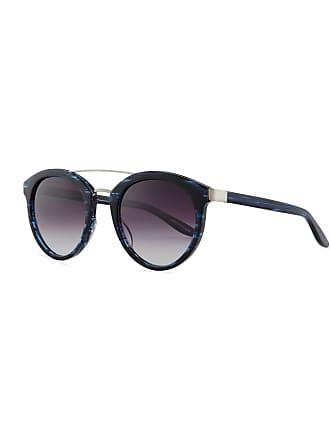 38da49b2f20a Barton Perreira Dalziel Round Sunglasses with Metal Bar