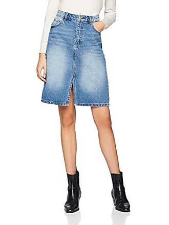 74eed1f363 Pimkie Jupe en jean bleu mi-longue Femme - Taille 42