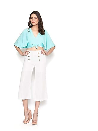Lucy in the Sky Calca pantacourt botoes off white P