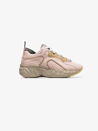 Acne Studios pink Manhattan technical sneakers