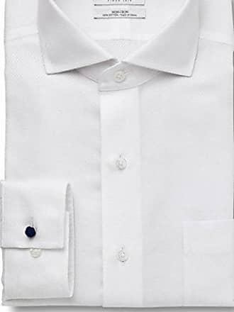 Enro Mens Fort Totten Stripe Non-Iron Classic Fit Dress Shirt