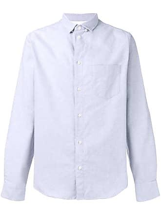Natural Selection Camisa com bolso no busto - Cinza