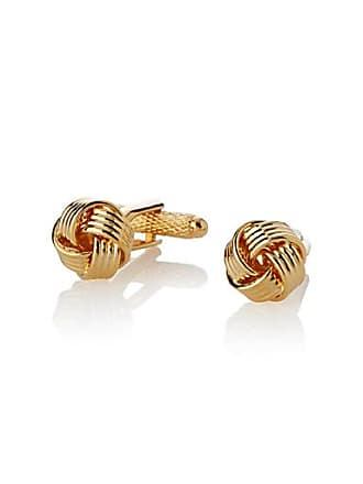 Le 31 Chinese-knot golden cufflinks