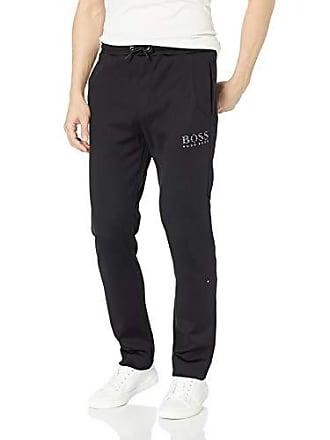 8c40b49a0 HUGO BOSS BOSS Green Mens Hadim Sweatpants, Black, L