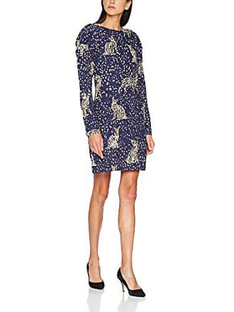 6fec0c6408e6 Derhy W710069-Vestito Donna Blu (Bleu Petrole 3) 44 (Taglia Produttore