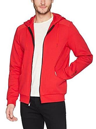 2(x)ist Mens Moto Zip-Up Hoodie Sweatshirt Sweater, Toreador, Small
