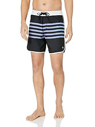 ab82ef5789 Quiksilver Mens Everyday Grass Roots 17 Boardshort Swim Trunk, Black, 31