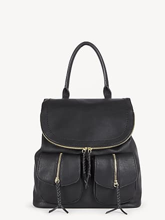 Sole Society Womens Emery Backpack Vegan Leather Black One Size From Sole Society