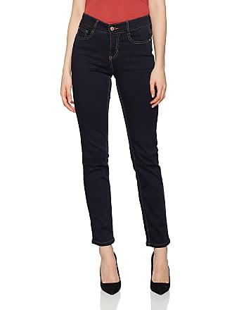 a241d97c0da307 MAC Womens Angela Straight Jeans, Blue (Dark Rinsewash D801), W46/ L32