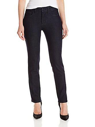 NYDJ Womens Petite Sheri Slim Jeans, Dark Enzyme 0P