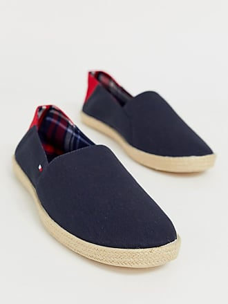 8bfea5f8116af Tommy Hilfiger espadrille with contrast panel and flag in navy
