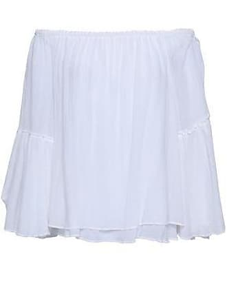 fa974bc0d835a Bailey 44 Bailey 44 Woman Off-the-shoulder Layered Gauze Top White Size XS