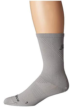 24e57615df57e New Balance Run Flat Knit Crew 1-Pair (Grey) No Show Socks Shoes