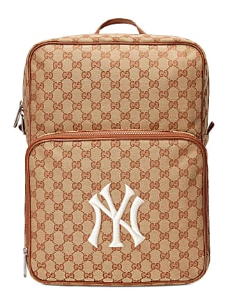 4600f5e3e590 Gucci Sac à dos à empiècement NY Yankees taille moyenne